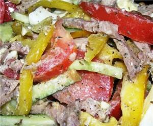 Салат по-чешски