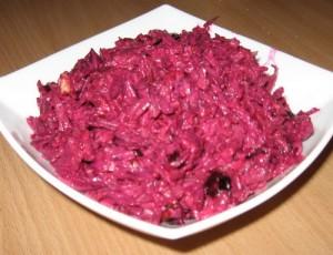 Салат из свеклы с хреном