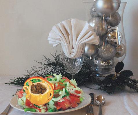 Салат из морского языка