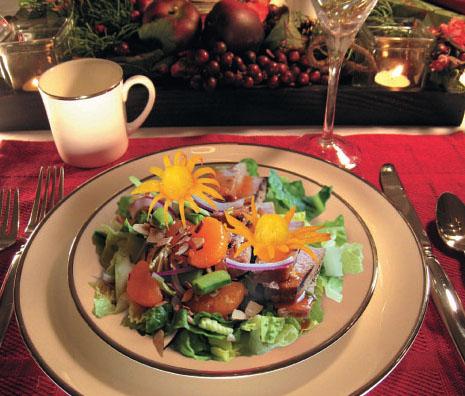 Салат с тунцом по-азиатски