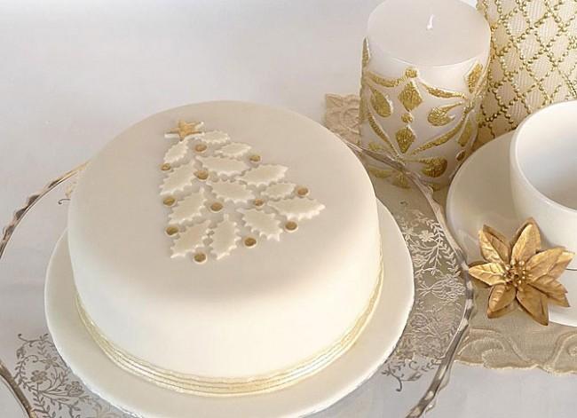 Новогодние торты на заказ